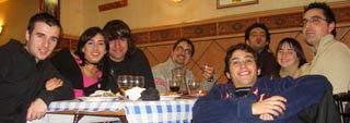 Cena en el bar Paquito