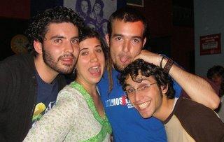 (I a D) Zeky, Feli, Juanjo y Jaume