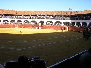Plaza de toros hexagonal de Almaden