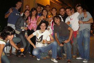 Parte del grupo de Periodismo Digital en Murcia