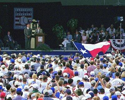 Nolan Ryan Hall of Fame Induction