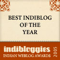 Best IndiBlog 2005