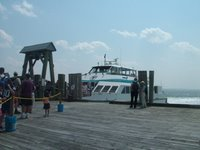The T's high-speed ferry from George's Island to Quincy