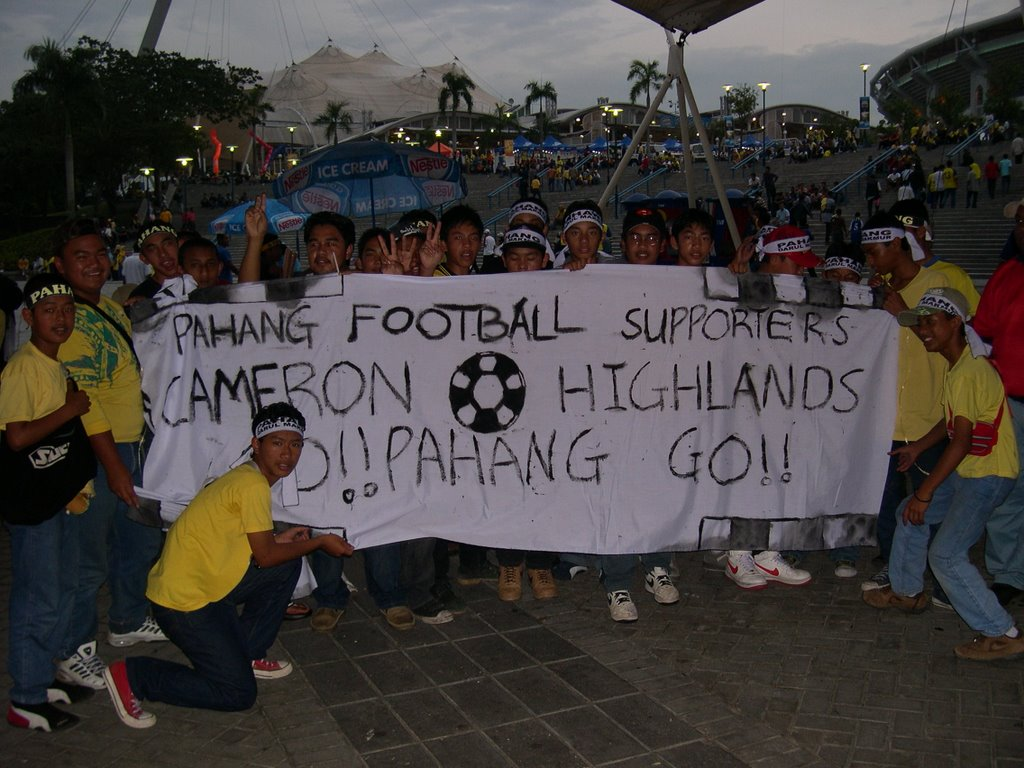 The supporters from Pahang