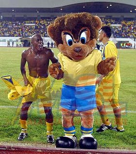 Zambian Hitman with The Lion