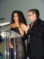 Alicia Ramírez y Joan Fabrellas, presentadores de la gala de clausura