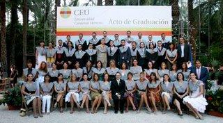 II Promoción de Periodismo de la Universidad Cardenal Herrera-CEU