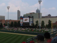 Victory Field and Indy Skyline