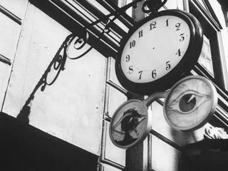 Clock w/o hands from Bergman's film, 'Wild Strawberries'