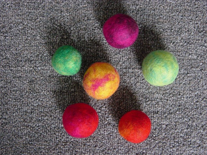 Can You Give A Cat Felted Balls