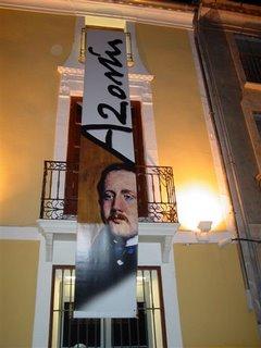 Azorín creció como escritor en su casa natal de Monóvar