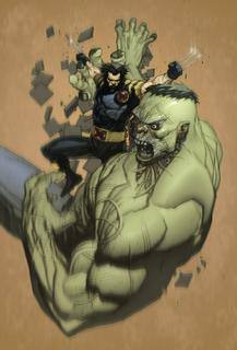 Ultimate Hulk vs. Wolverine