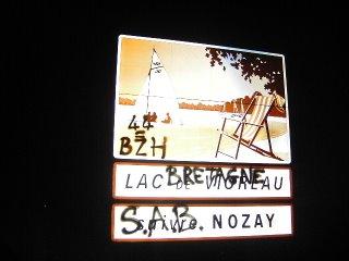 44=BZH, Bretagne, Stourm Ar Brezhoneg (Nozieg Bro-An-Naoned) Combat pour la Langue Bretonne (Nozay Pays Nantais)