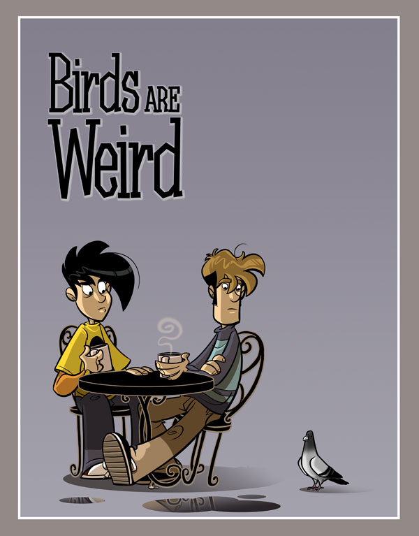 Penny Arcade Volume 4, Birds Are Weird