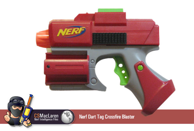 Nerf™ Dart Tag Crossfire Blaster & Target Shield