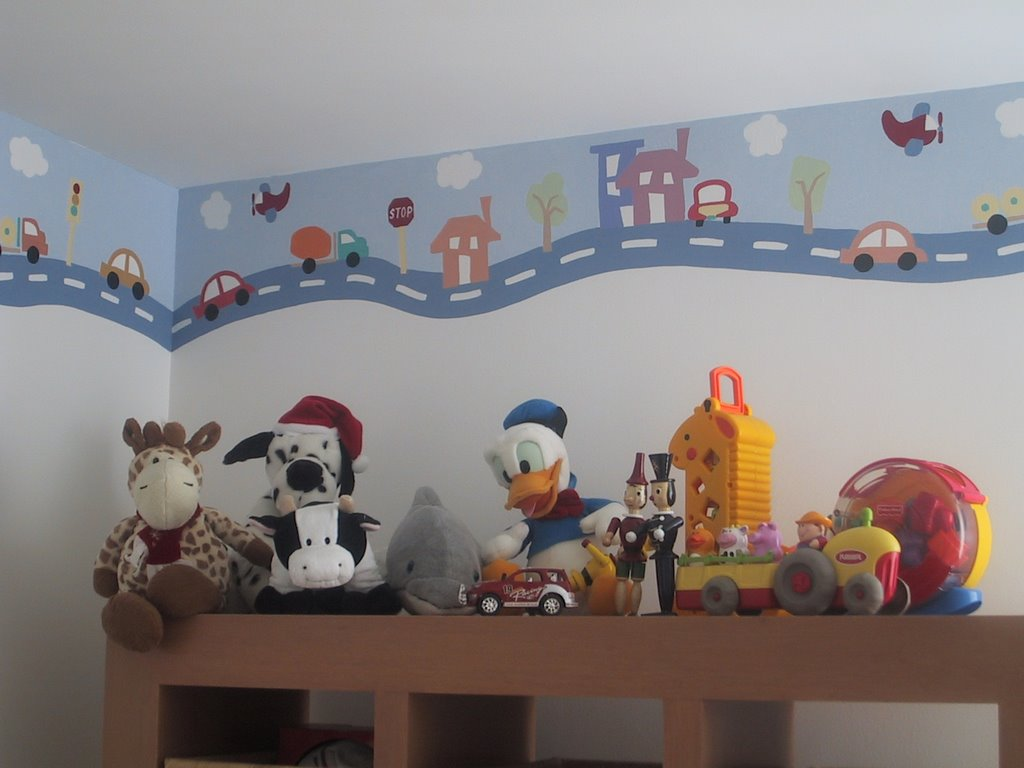Muralitos for Decoracion en pared para ninos