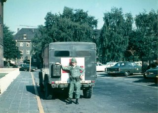 Me at Patton Barracks, Heidelberg, Germany, summer 1970. Photo credit: Jack Prier, Woodland Hills, California