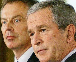 Blair and Bush in Washington, July 28, 2006