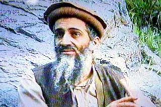 Osama at one of his caves