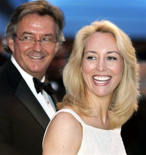 Ambassador Joseph Wilson and his wife Valerie Plame, patriots both, in the truest sense.