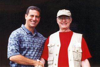 Russ Feingold and me, 2003