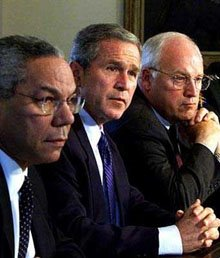 Major domos of the Bush crime family