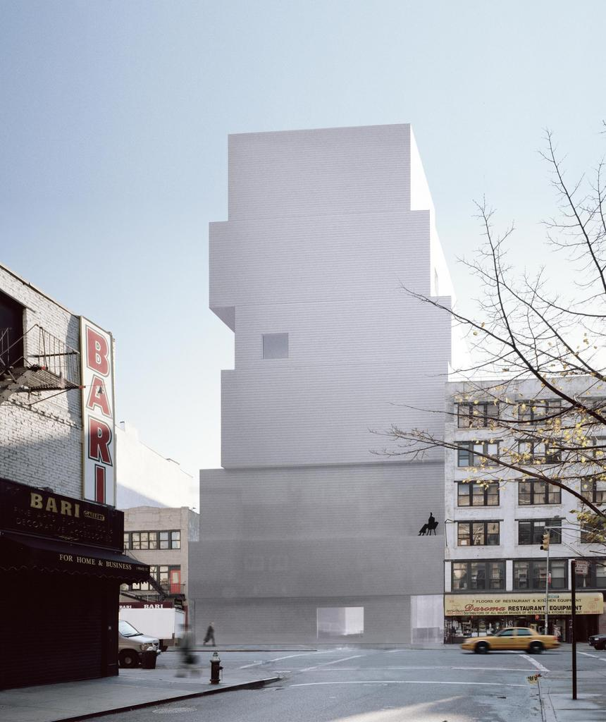The new museum of contemporary art currently located in far west
