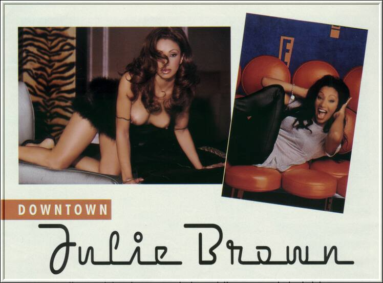 downtown julie brown playboy pictures № 76072