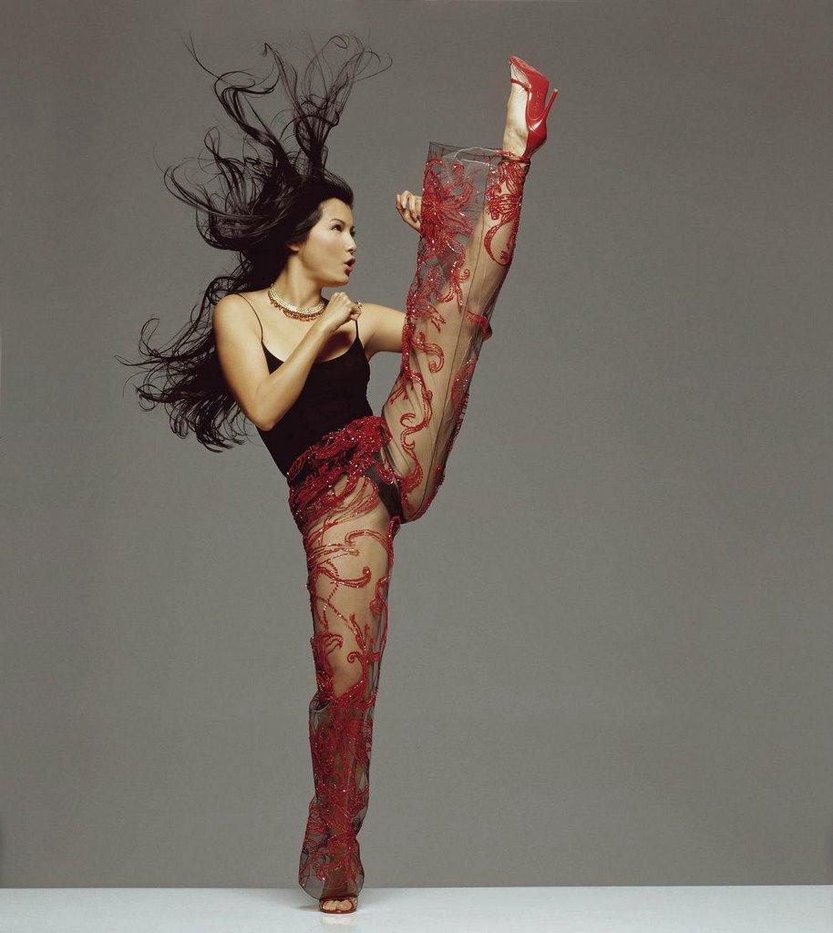 Kelly Hu nude [9 PICS MIX ]