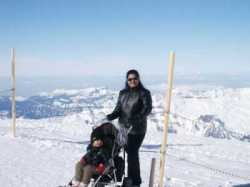 On Jungfrau