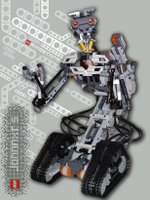 JohnnyNXT built from the Lego Mindstorms NXT Robotics system.
