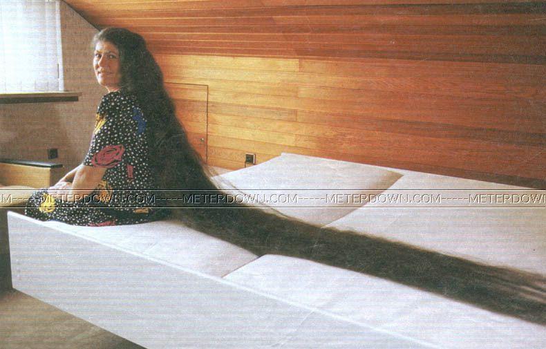 большие длинные волосы фото