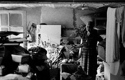 home, interieur, grand mere, st germain, france, maison, 2006