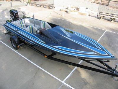 boaters 39 dreams 1986 centurion barefoot warrior ski boat. Black Bedroom Furniture Sets. Home Design Ideas