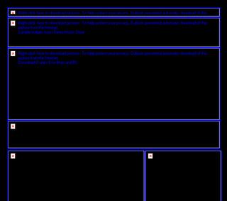 esempio di email layout con immagini non caricate dal client di posta