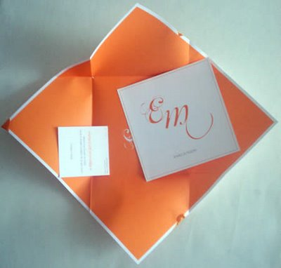 biglietto speciale invito matrimonio, grafica e design molto curato nei minimi dettagli, complimenti Marco!