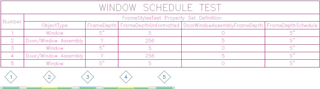 Door schedule sample door schedules cad drawing block for Window and door schedule template