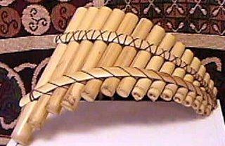 Flauta de Pã em bambu