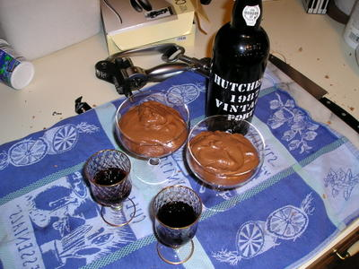 Port, mousse, and the casualties of war.
