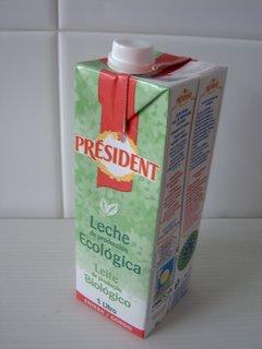 leche ecológica gallega