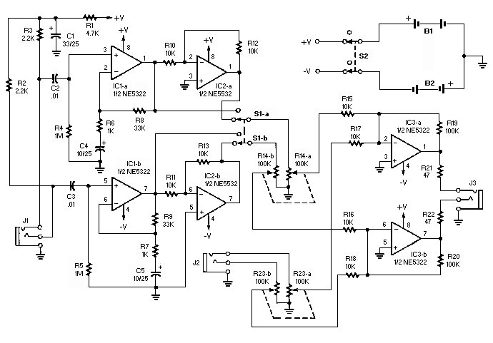 electronics circuit diagrams schematics noise canceling headphones rh hobby electronics blogspot com Schematic Diagram of LAN Cable Schematic Diagram of Battery Charger