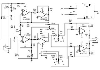 electronics circuit diagrams schematics noise canceling headphones rh hobby electronics blogspot com Schematic Diagram of Projector Schematic Diagram of Motherboard