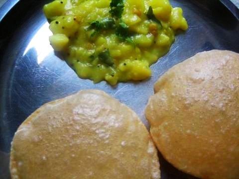 Puri masala Bhaji