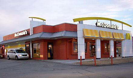 McDonald's new style