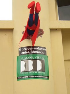 superhero advertising