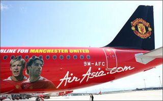 Air Asia & Manchester United