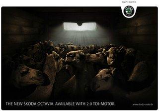 Skoda advertising