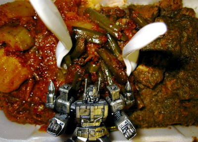 Ultramagnus guardian of the curries!