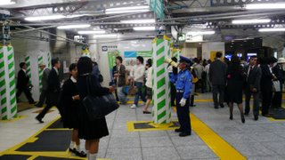 inside Takadanobaba station - click to see big