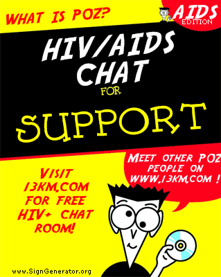 HIV/AIDS chat support for DUMMIES